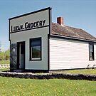 The Luzan Grocery, Ukrainian Cultural & Heritage Village, Alberta, Canada by Adrian Paul