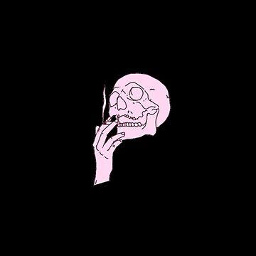 PEEP SMOKING SKULL by DarkChild