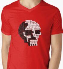 Key Skull Men's V-Neck T-Shirt