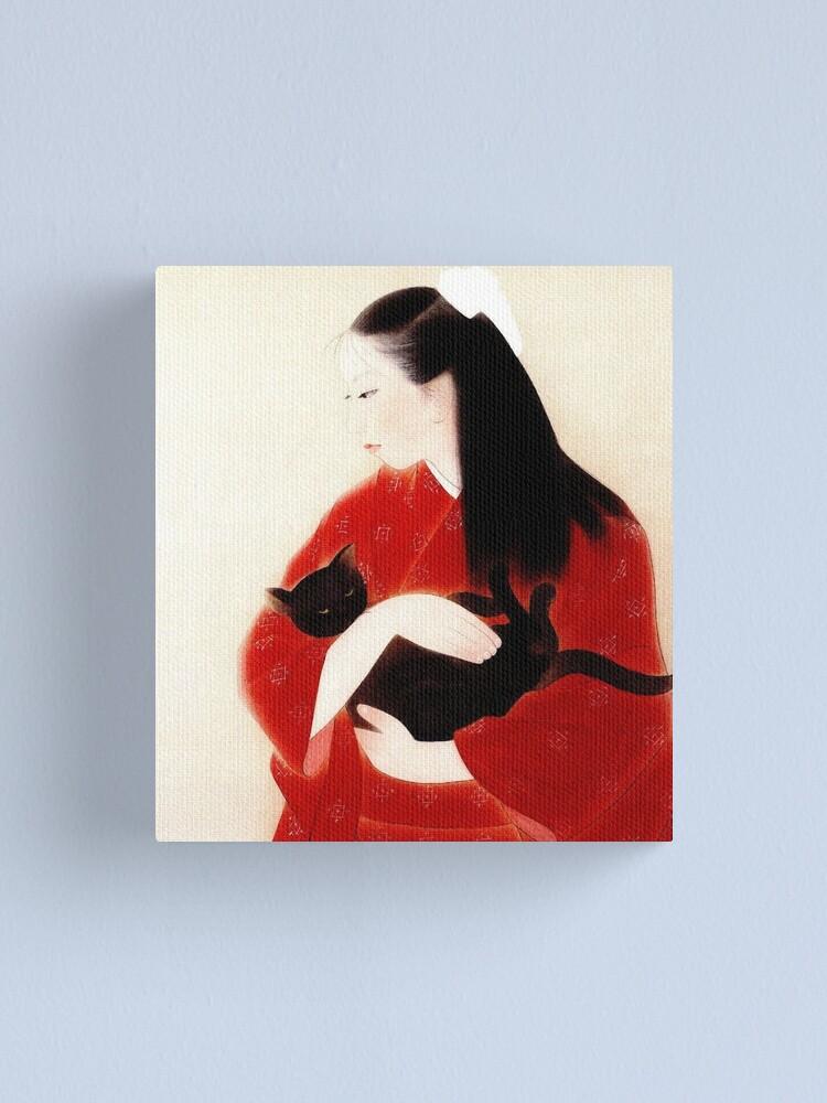 GEISHA JAPANESE HAIR ASIAN WOMAN GIRL Picture Canvas art Prints