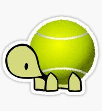 Tennis Schildkröte Sticker