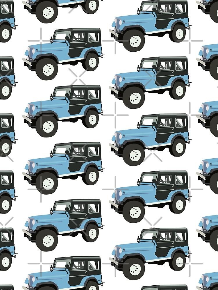 Roscoe der Jeep! von NemJames