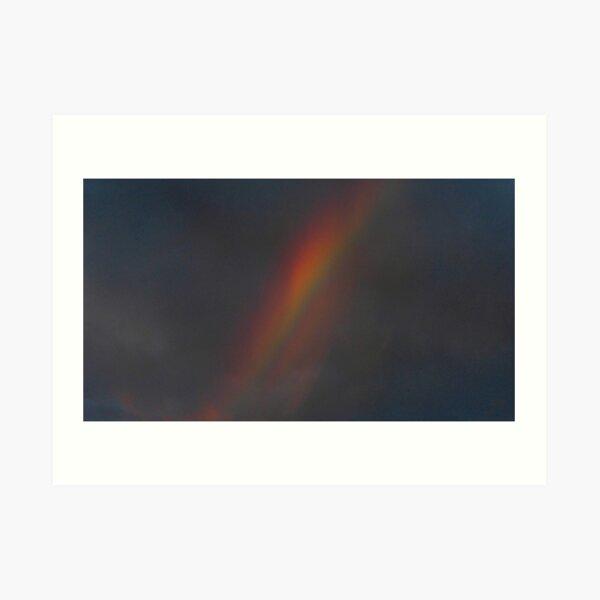 Black Rainbow Art Print