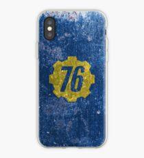 Vault 76 - Distressed iPhone Case