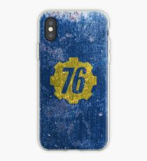Vault 76 - Distressed iPhone Case
