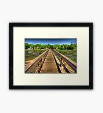 Wellfleet Bridge Framed Print