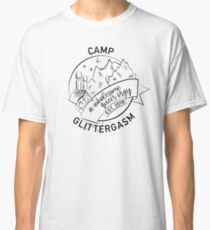 Camp Glittergasm Logo (Black) Classic T-Shirt