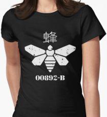 Methylamine Bee Breaking Bad Women's Fitted T-Shirt