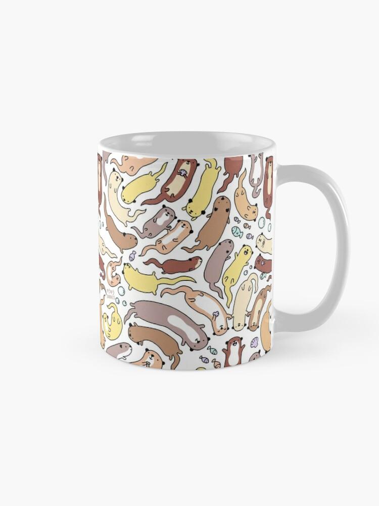 Alternate view of Adorable Otter Swirl Mug