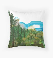 Oregon Great Basin Throw Pillow
