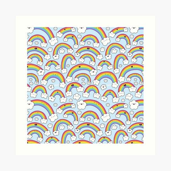 Rainbows Everywhere!  Art Print