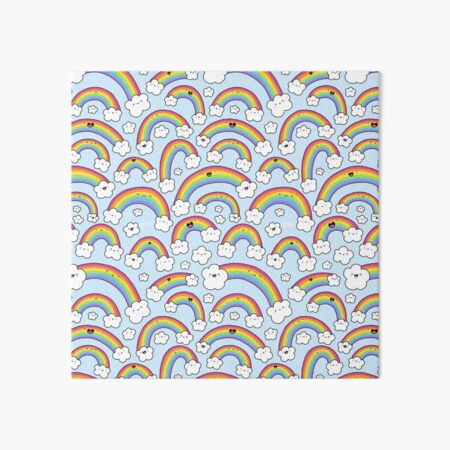 Rainbows Everywhere!  Art Board Print