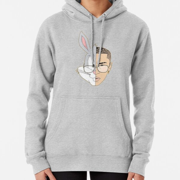 Bad Bunny Pullover Hoodie