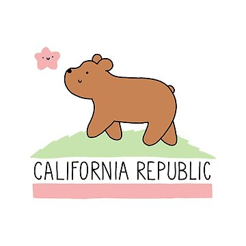 Kawaii California Republic de KiraKiraDoodles
