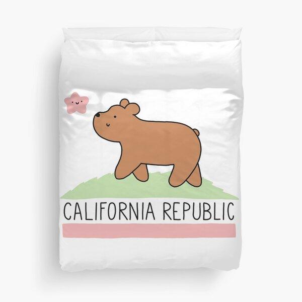 Kawaii California Republic Duvet Cover