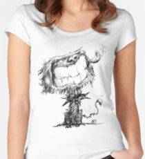 Scruffy Dog Fitted Scoop T-Shirt