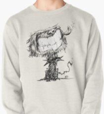 Scruffy Dog Pullover Sweatshirt