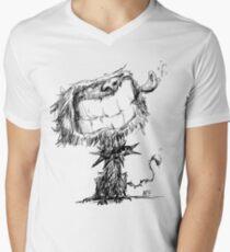 Scruffy Dog Men's V-Neck T-Shirt