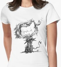 Scruffy Dog Fitted T-Shirt
