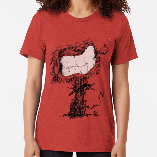 Scruffy Dog Tri-blend T-Shirt