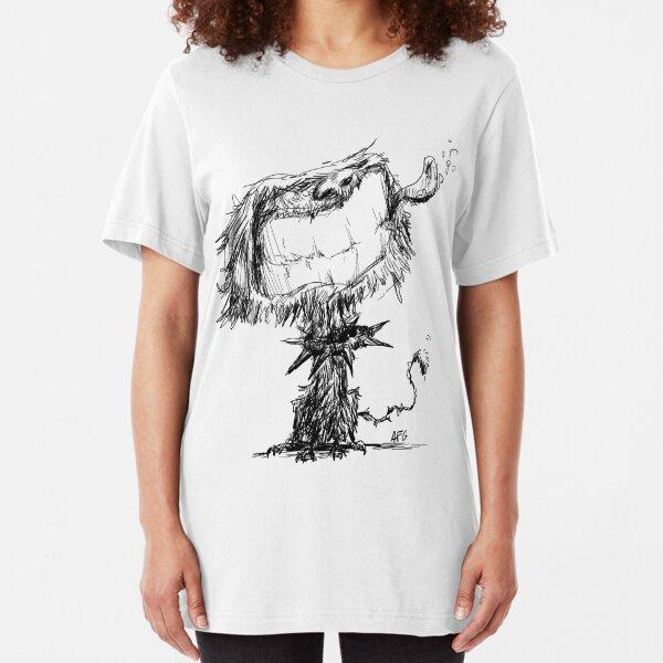Scruffy Dog Slim Fit T-Shirt