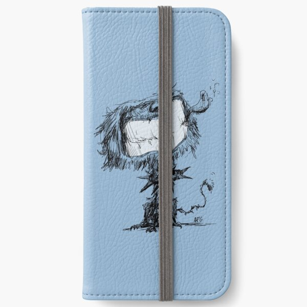 Scruffy Dog iPhone Wallet