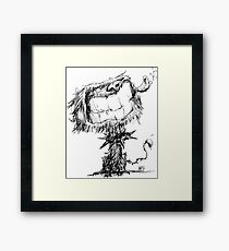 Scruffy Dog Framed Print