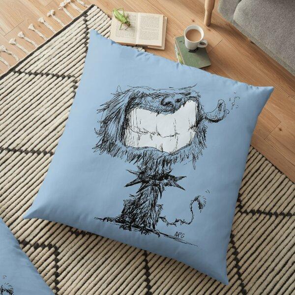 Scruffy Dog Floor Pillow