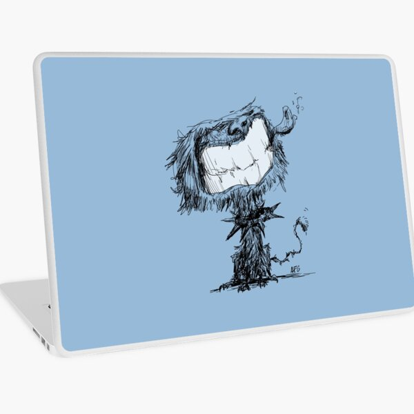Scruffy Dog Laptop Skin