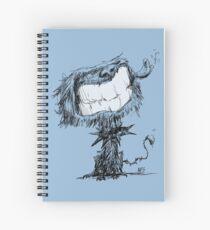 Scruffy Dog Spiral Notebook