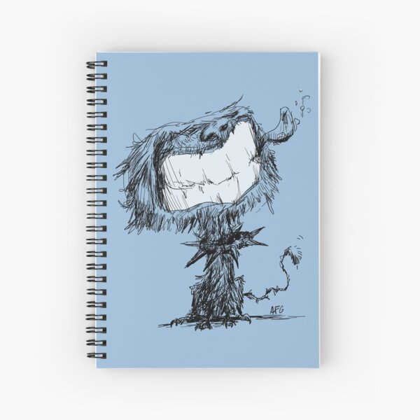 Scruffy Dog Spiral Notebook