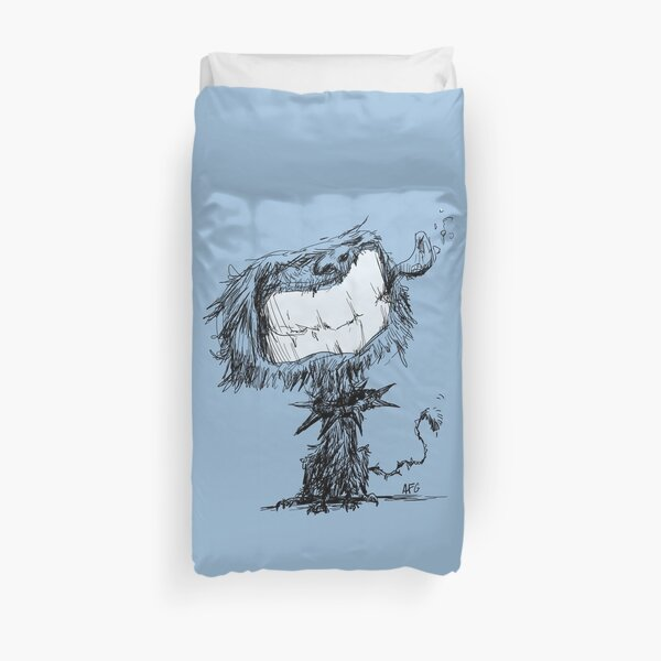 Scruffy Dog Duvet Cover