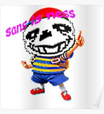 sans is ness Poster