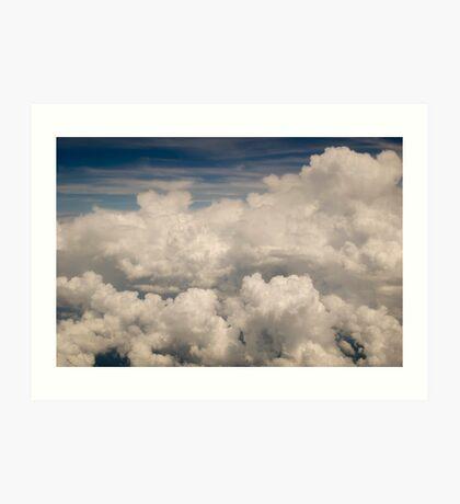 Cloudy Days Art Print
