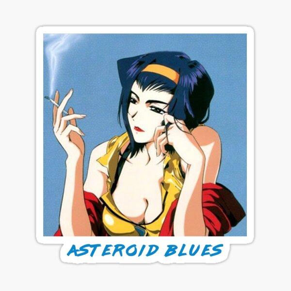 Faye Valentine: Asteroid Blue's Aesthetic Sticker