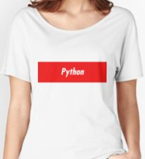 Python Developer - Programming stickers and other items! Women's Relaxed Fit T-Shirt