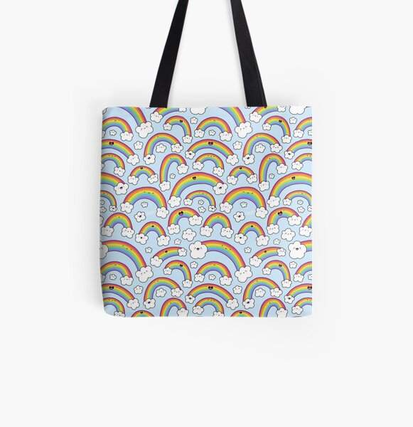 Rainbows Everywhere!  All Over Print Tote Bag