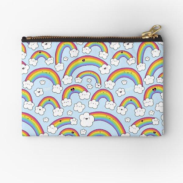 Rainbows Everywhere!  Zipper Pouch