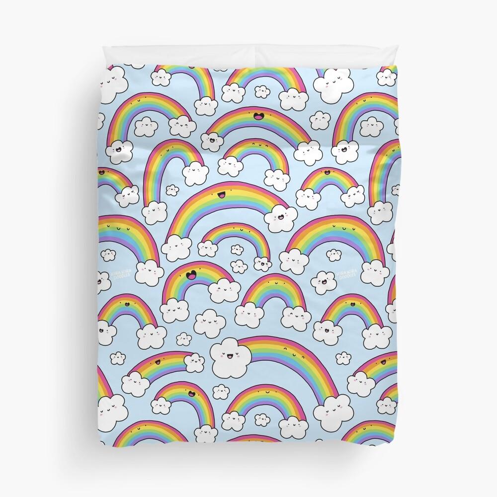 Rainbows Everywhere!  Duvet Cover