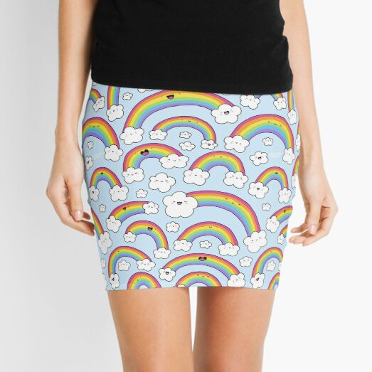 Rainbows Everywhere!  Mini Skirt