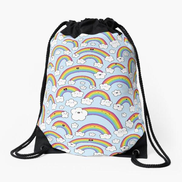 Rainbows Everywhere!  Drawstring Bag