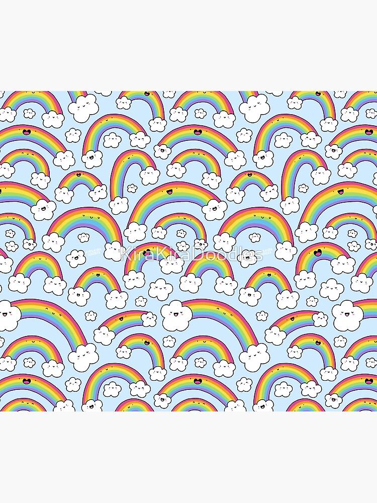 Rainbows Everywhere!  by KiraKiraDoodles