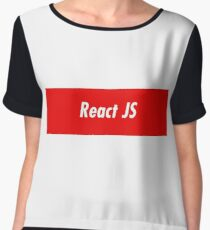 React JavaScript Developer - Programming Stickers and items Chiffon Top
