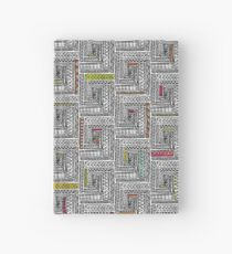 Log Cabin Pattern Hardcover Journal