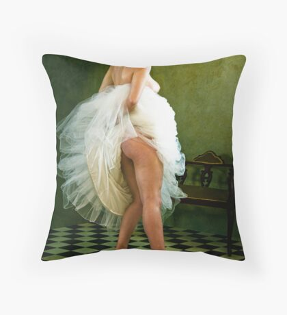 Do you like my New Shoes? Throw Pillow