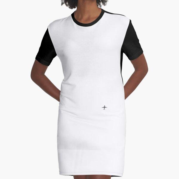 Lets Travel Graphic T-Shirt Dress