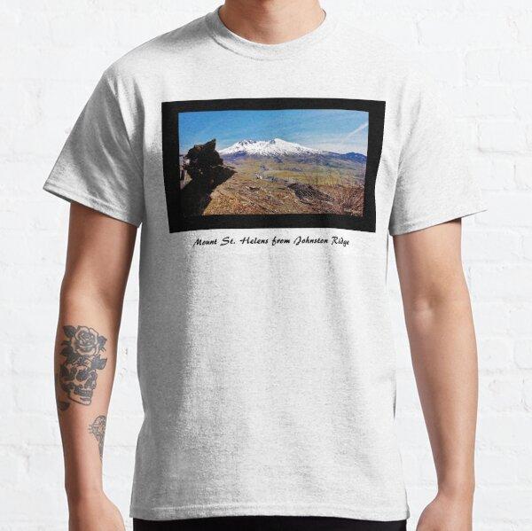 Mount St. Helens from Johnston Ridge Classic T-Shirt