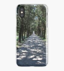 View from Monastery of Filerimos to the sea iPhone Case/Skin