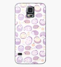 Happy Hedgies - Kawaii Hedgehog Doodle Case/Skin for Samsung Galaxy