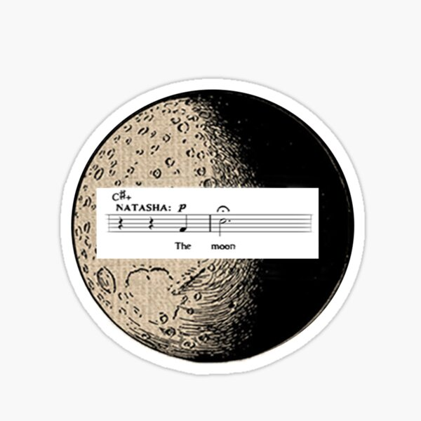 The Great Comet of 1812 No One Else Sticker
